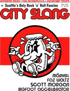 Image of CITY SLANG 'ZINE #1 - Seattle's Only Rock 'n' Roll Fanzine