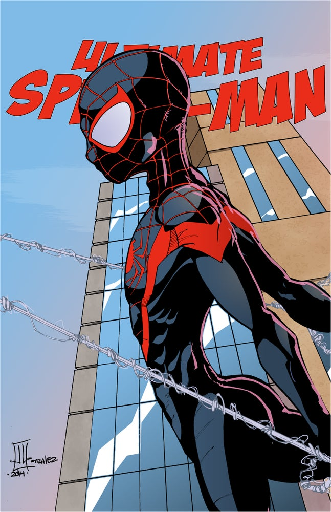 Image of ULTIMATE SPIDER-MAN MILES MORALES