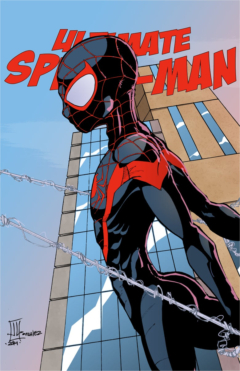 "Image of <font size=""3"">ULTIMATE SPIDER-MAN MILES MORALES</font><br><font color=""000000"">"