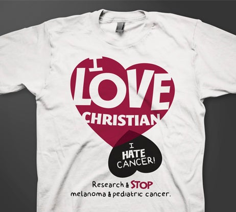 Image of I love Christian