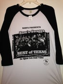 Image of BEST OF TEXAS RAGLAN STYLE (BASEBALL JERSEY) S,M,L,XL