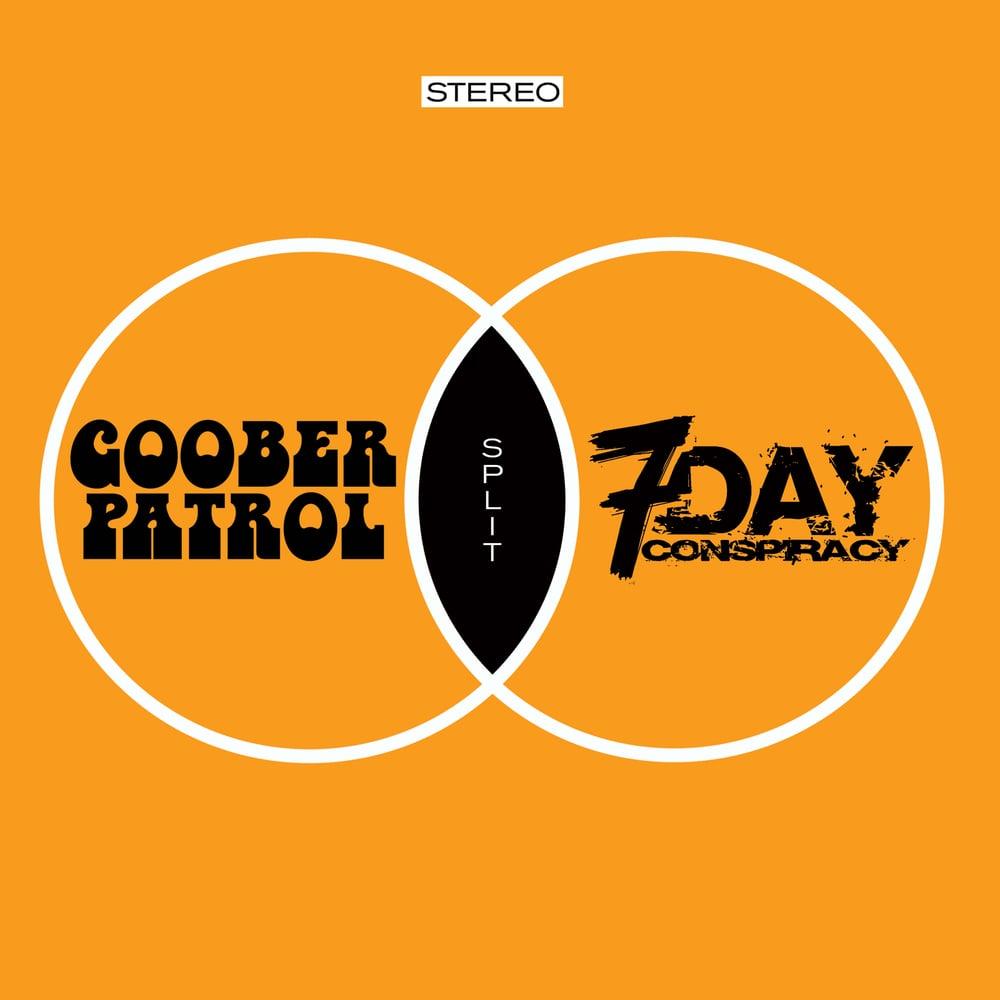 Image of Goober Patrol - 7 Day Conspiracy Split Album CD