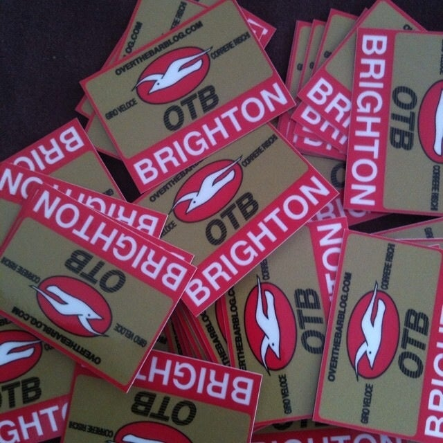 Image of overthebar Stickers x 2
