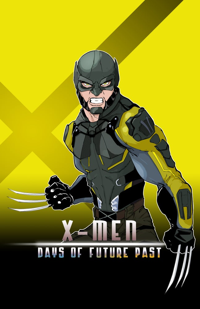 Image of WOLVERINE: X-MEN | DAYS OF FUTURE PAST