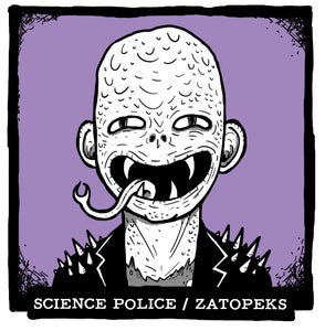 """Image of Science Police / Zatopeks split 7"""""""