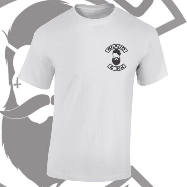 Image of Beard & Ink Chest Logo Tee
