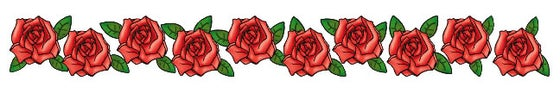 Image of Rosebelly: 6-Inch Petite Red Roses