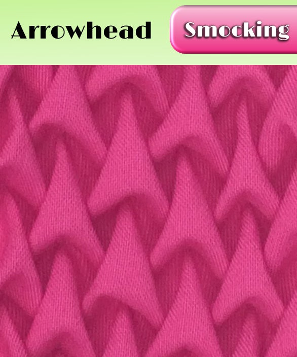 Image of PDF - Heirloom Smocking Pattern - 03 - Arrowhead