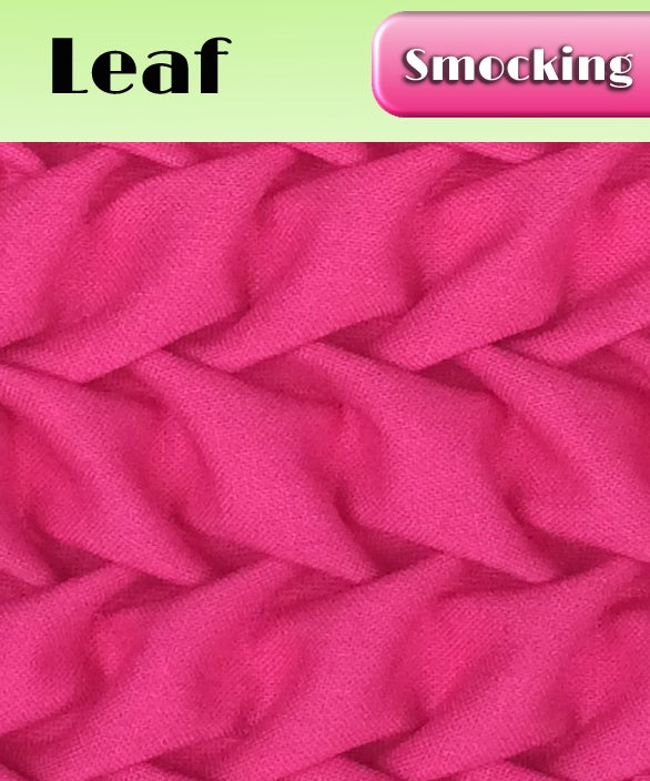 Image of PDF - Heirloom Smocking Pattern - 05 - Leaf