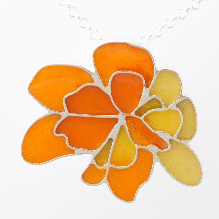 Image of Resinate Wisha Pendant-Yellow Orange