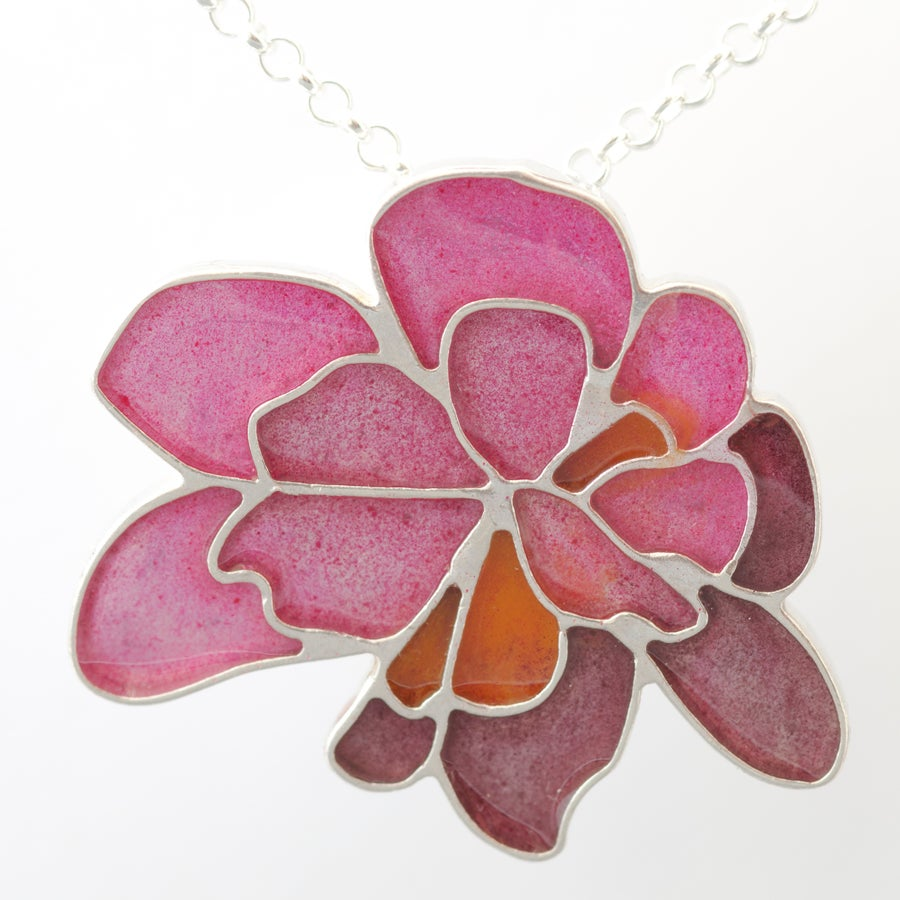Image of Resinate Wisha Pendant- pinks