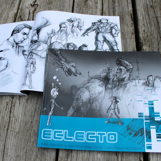 Image of Eclecto sketchbook
