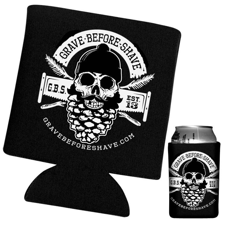 Image of GRAVE BEFORE SHAVE Can Koozie
