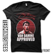 "Image of ""VAN DAMME APPROVED"" T-Shirt"