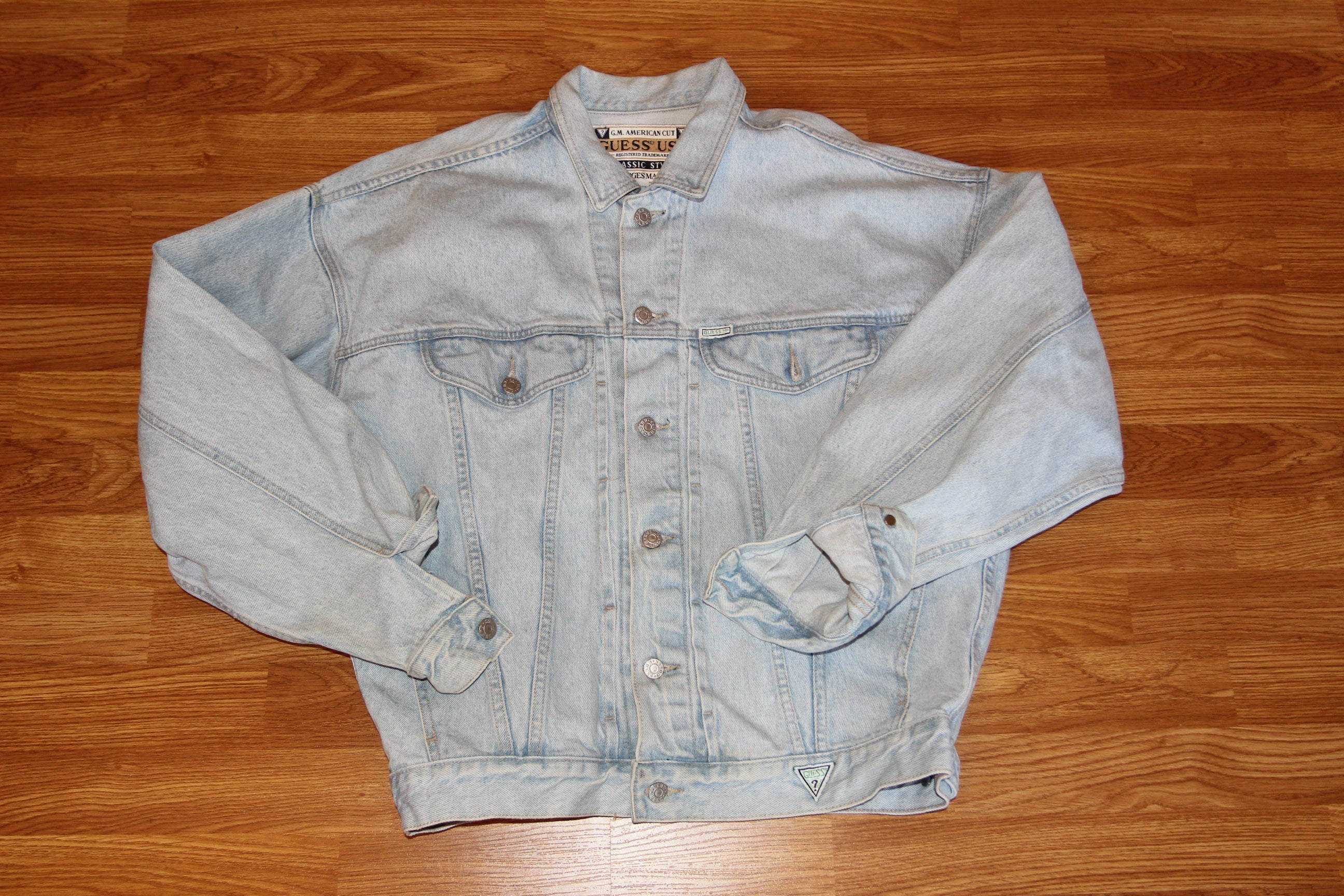Vintage Guess Jean Jacket By George Marciano Thriftdemon