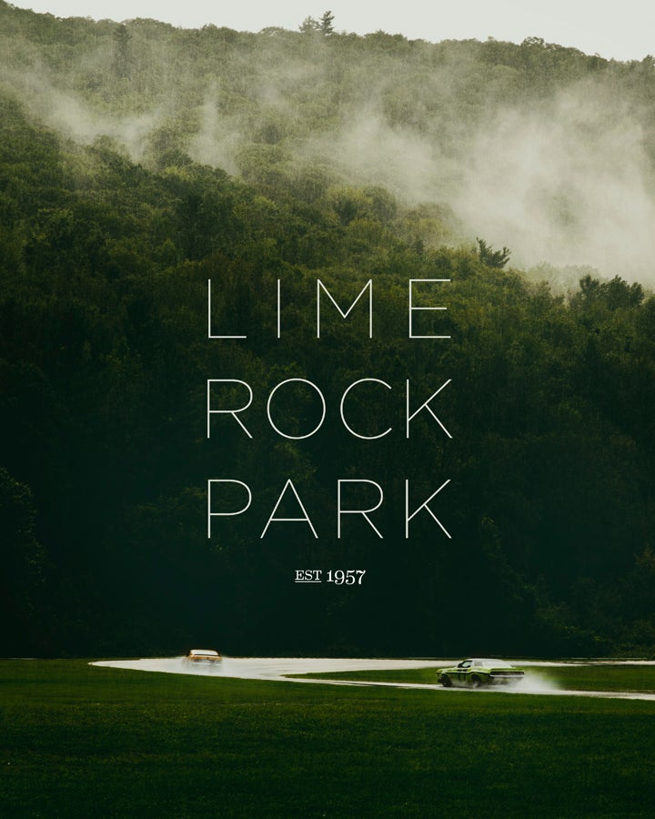 "Image of Lime Rock Park 16"" x 20"" Print"