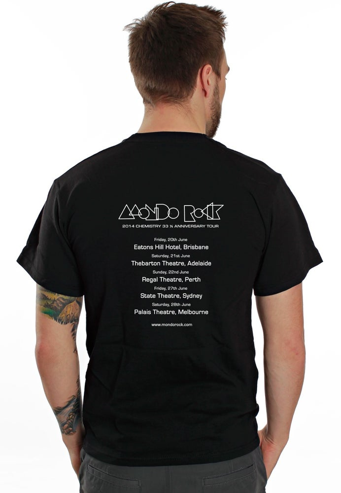 Image of Mondo Rock 2014 Tour Tee