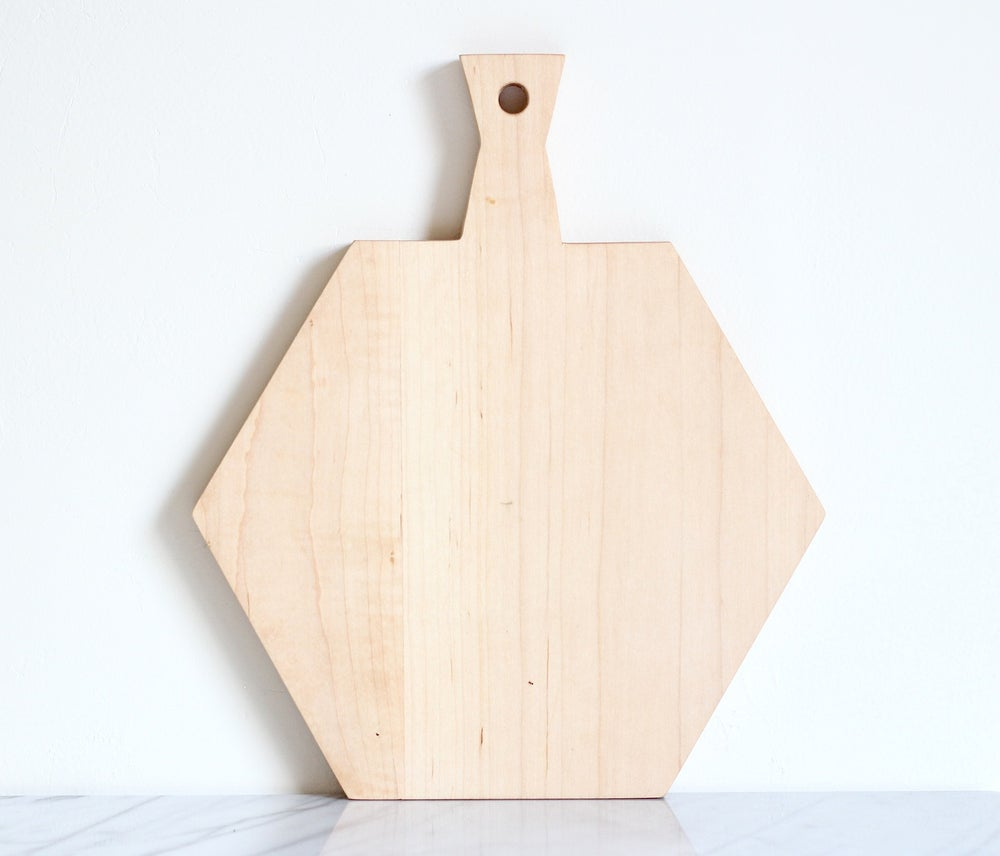 Image of HEXA Serving Board Maple