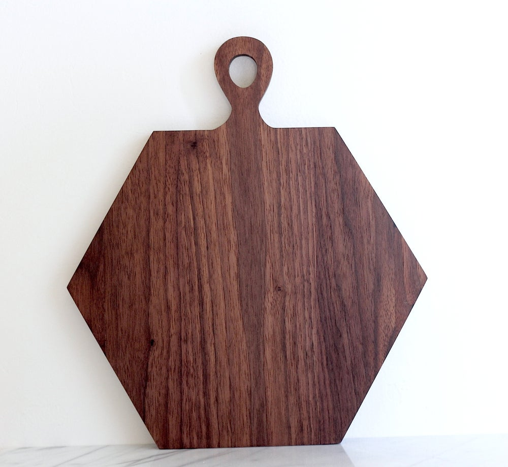 Image of HEXA Serving Board Walnut