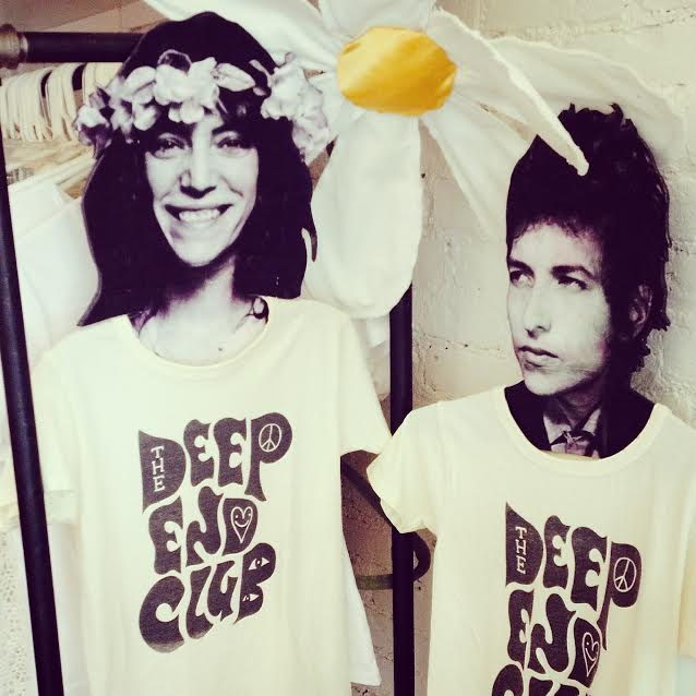 Image of The Deep End Club Tshirt (white)