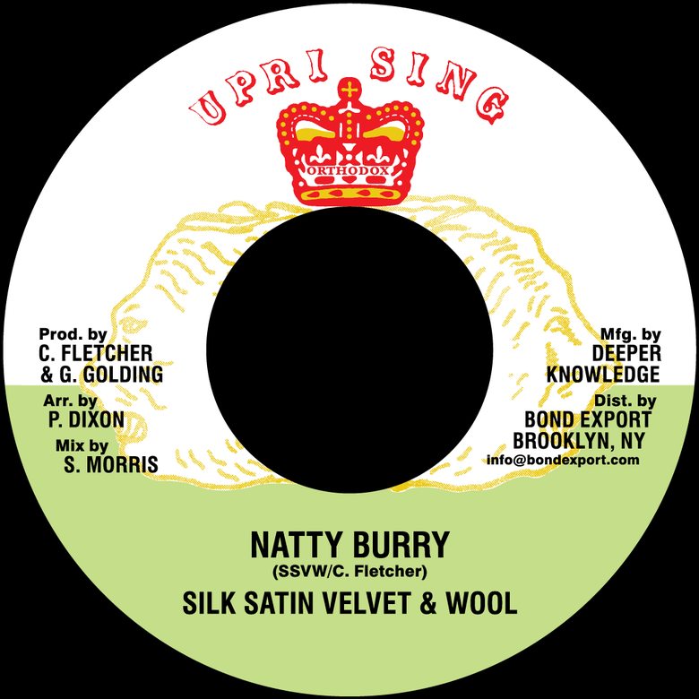 "Image of SSVW - Natty Burry 7"" (Uprising)"