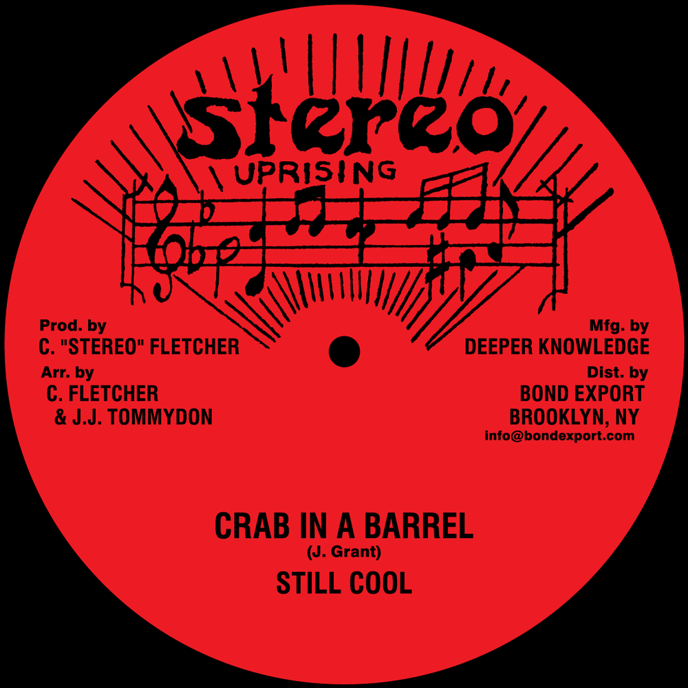 """Image of Still Cool / Thomas White - Crab in a Barrel / Ivory Girl 10"""" (Stereo Uprising)"""