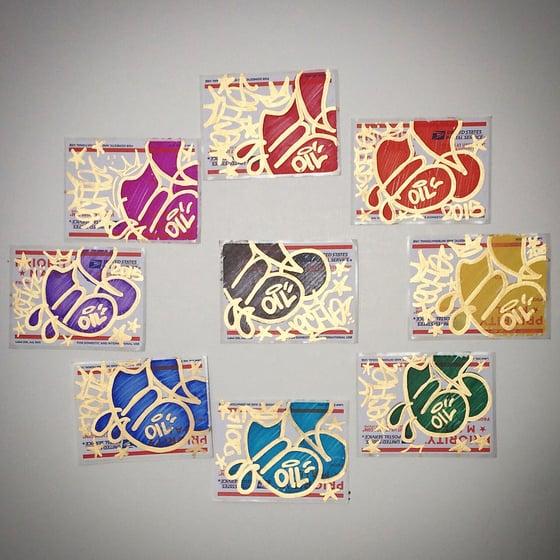 Image of 18kt Goldleaf 228 Sticker Pack