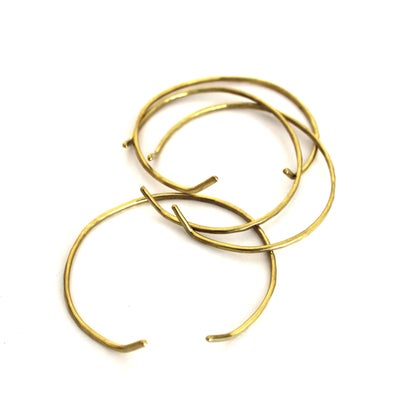 Image of Seaworthy Curva thin brass cuff