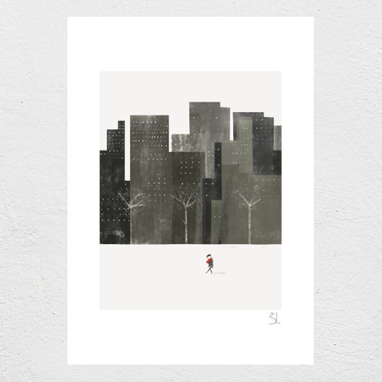 Image of Winter City Print