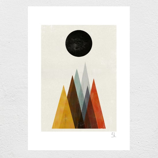 Image of Eclipse Print