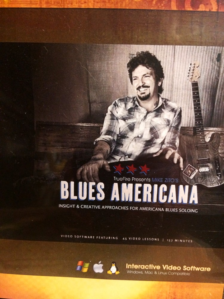 Image of Mike Zito/Truefire - Blues Americana Guitar Instructional Course