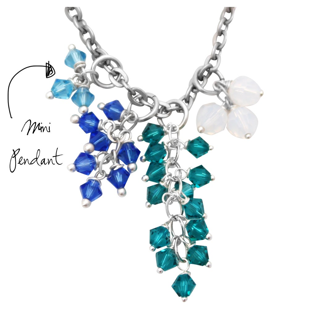 Image of Mini Layered Sparkle Pendant {Layer Up with Other Pendants}