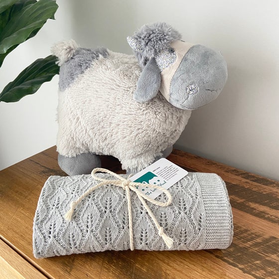 Image of Baby Bundle - Any listed blanket and Charlie cow