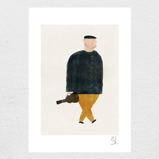 Image of The Violinist Print