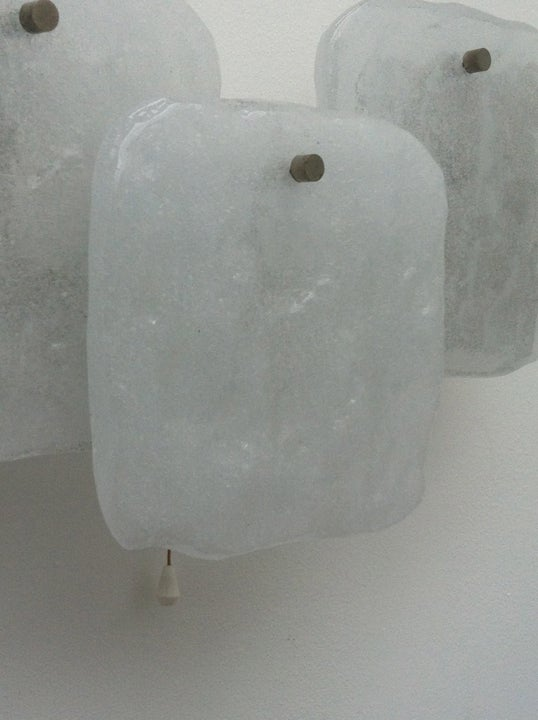 Image of Ice Glass Sconces by Kalmar
