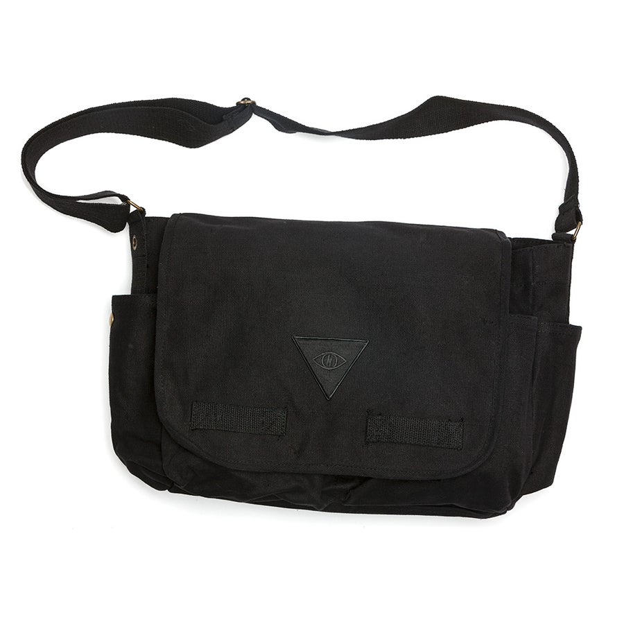 Image of X2 MESSENGER BAG [ black ]