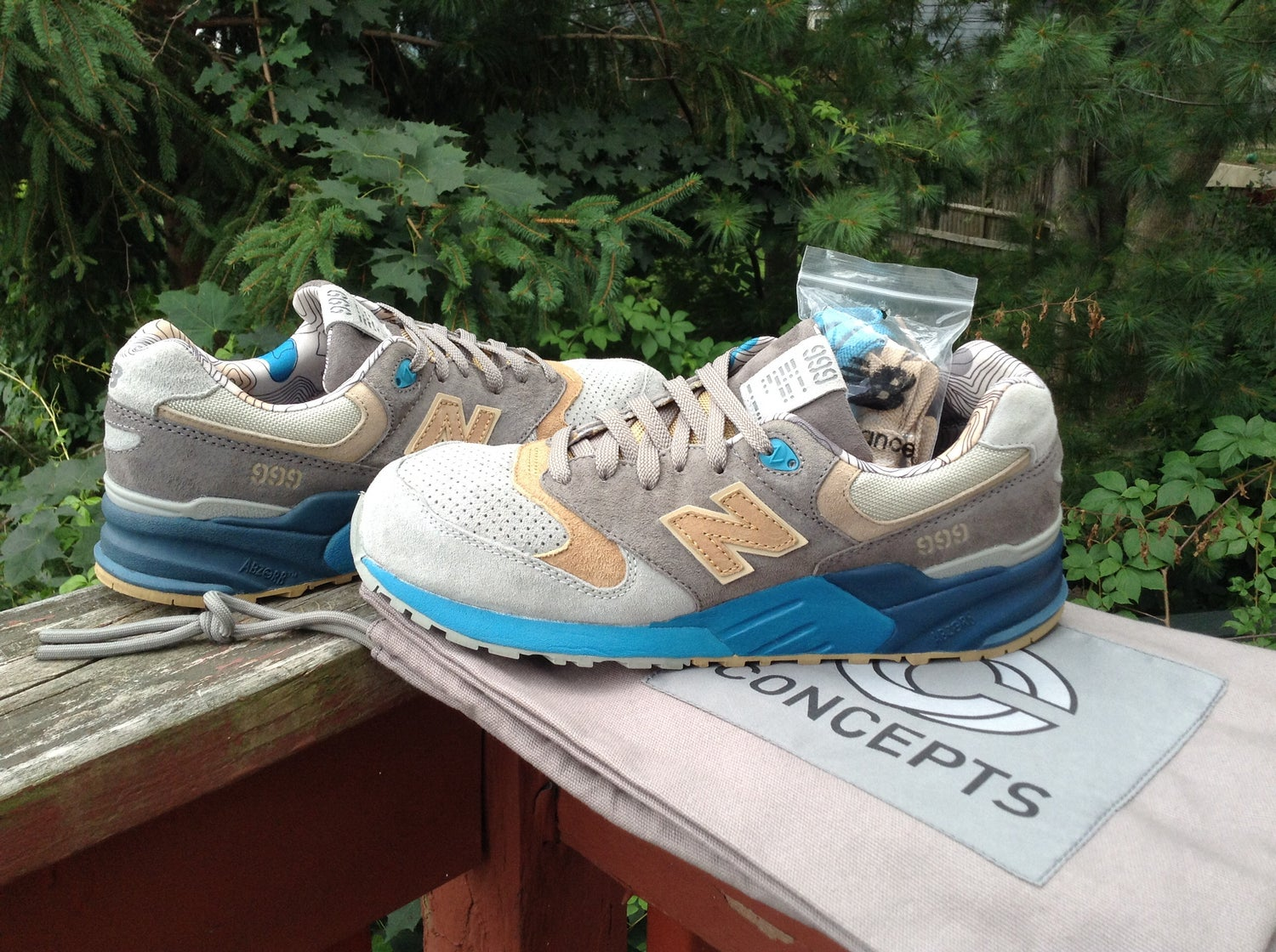 Image of New Balance x Concpts 999 Seals