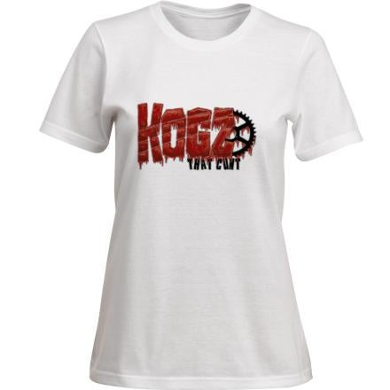 Image of 'Kogz That Cunt' Womens T-Shirt Black or White