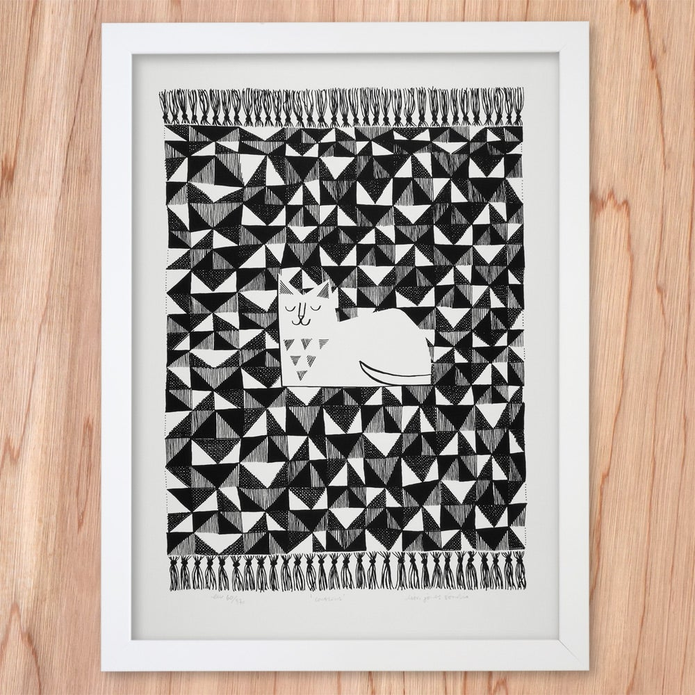 Image of Silkscreen Print | Couscous