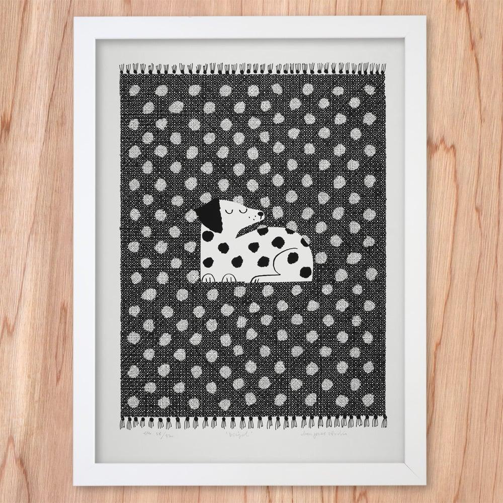 Image of Silkscreen Print   Beigel