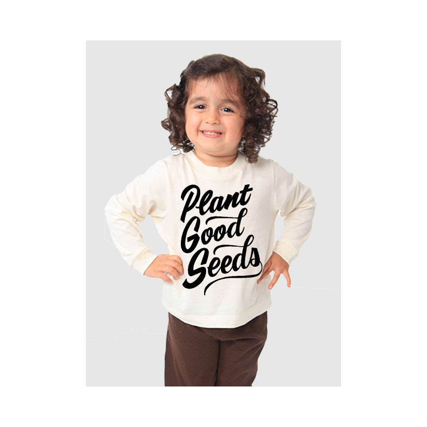 Image of PLANT GOOD SEEDS- L/S CREW