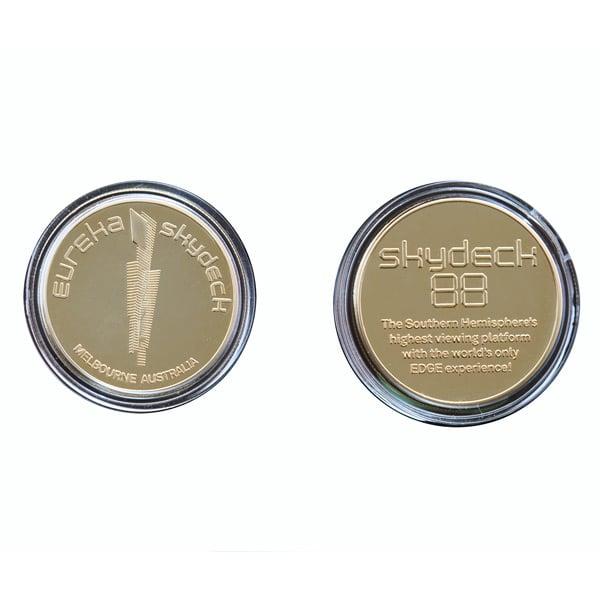 Image of Eureka Skydeck 24k Gold Coin inc.postage*