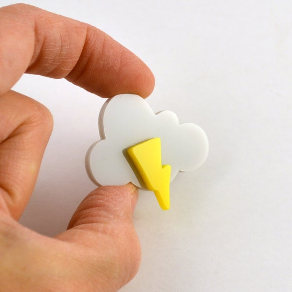 Image of Little cloud brooch