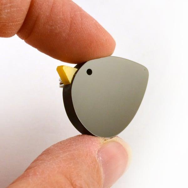 Image of Bird brooch