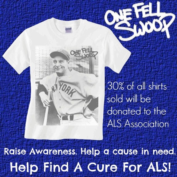Image of Lou Gehrig ALS Benefit Shirt