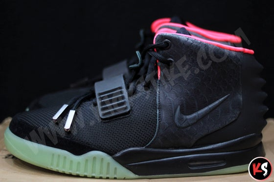 "Image of Air Yeezy 2 ""Solar Red"" (USED)"