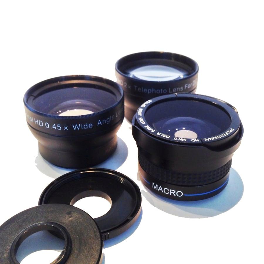Image of Camera Lenses & Accessories
