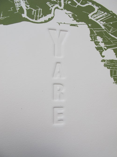 Image of Y is for Yare Print
