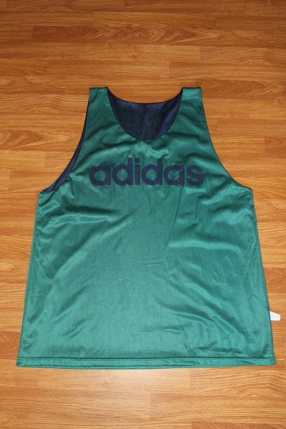 Image of DEADSTOCK REVERSIBLE ADIDAS JERSEY