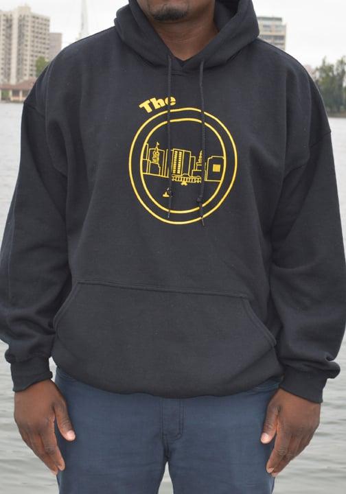 Image of Black & Yellow Hoodie